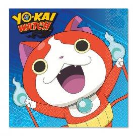 16 Serviettes Yo Kai Watch 33 cm
