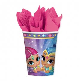 8 Gobelets Shimmer & Shine 266 mL