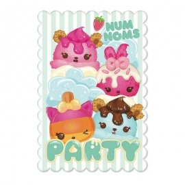 8 Invitations Num Noms