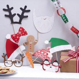 10 Accessoires de Noël pour Photobooth