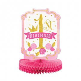 Centre de Table Premier Anniversaire Fille