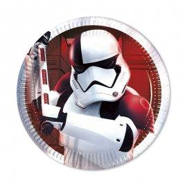 8 Assiettes Star Wars VIII 20 cm
