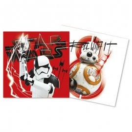 20 Serviettes Star Wars VIII 33 cm