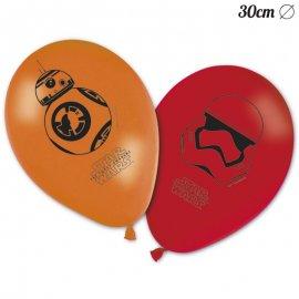 8 Ballons Star Wars 30 cm