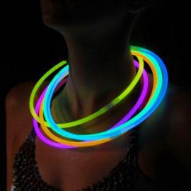 Colliers Fluorescents Unicolores (50 u.)