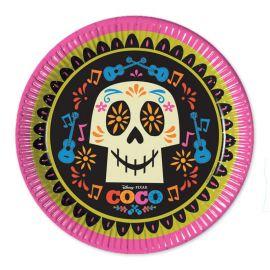 8 Assiettes Coco 23 cm