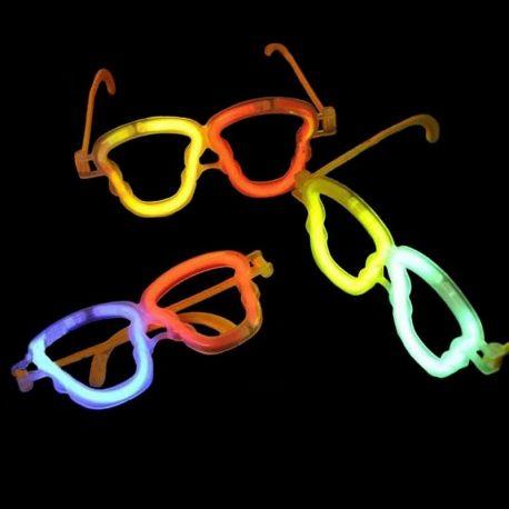 Lunettes Lumineuses Tête de Mort - Articles Soirée Fluo 94d8efc7d9b2