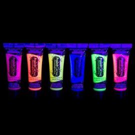 Peinture Fluorescente à Paillettes 10 ml