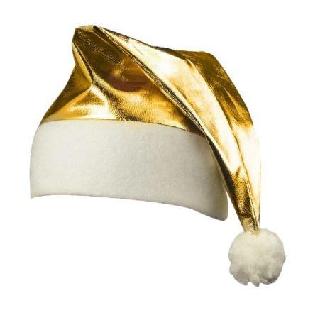 Bonnet de Noël Doré