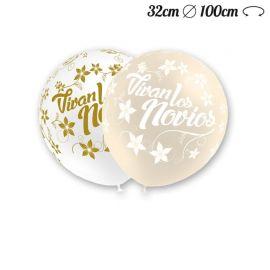 Ballons Ronds Vive Les Mariés 32 cm