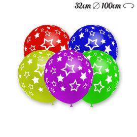 Ballons Ronds Avec Étoiles 32 cm