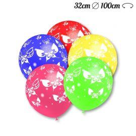 Ballons Ronds Motif Papillon 32cm