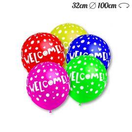 Ballons Motif Welcome 32 cm