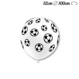Ballons Ronds Motif Foot 32 cm