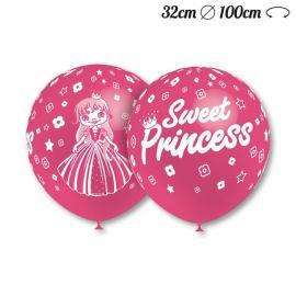 Ballons Motif Sweet Princess 32 cm