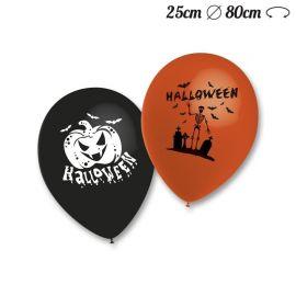 Ballons Ronds Motif Halloween M02 25 cm
