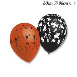 Ballons Ronds motif Halloween M03 30 cm