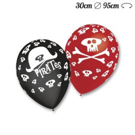 Ballons Ronds Motif Pirate 30 cm