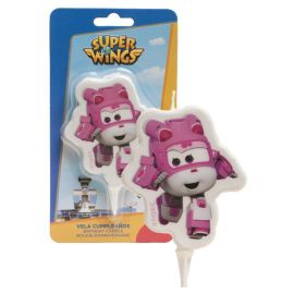 Bougie Dizzy Super Wings 7,5 cm