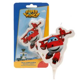 Bougie Jett Super Wings 7,5 cm