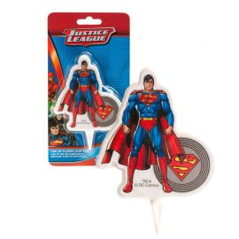 Bougie Superman 7,5 cm