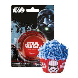 50 Caissettes Star Wars pour Cupcakes
