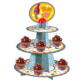 Support pour Cupcakes Trolls
