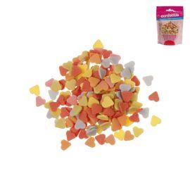 Confettis de Sucre en forme de Coeur