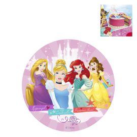 Disque Princesses Disney au Sucre sans Gluten