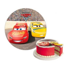 Disque de Sucre Cars sans Gluten