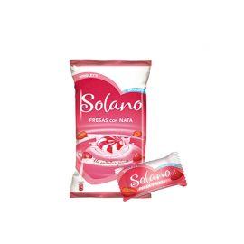 Solano Coeur Fraise et Crème Caramel Sans Sucre 300 Unités