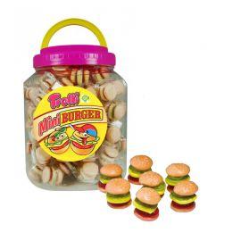 Caja de Mini Burgers Trolli 90 Uds