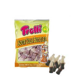 Sachet de Bouteilles Cola Halal Trolli 100 Gr