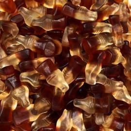Mini Bouteilles Cola de Gomme Haribo 1kg