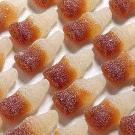 Mini Bouteilles Cola Piquantes Haribo 1 Kg