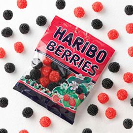 Mûres Rouges et Noires Haribo 100 Gr