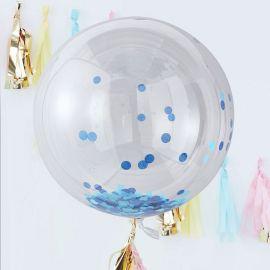 3 Ballons Géants avec Confettis 90 cm