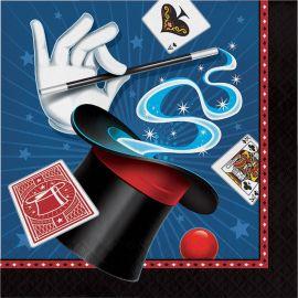 16 Serviettes Magie