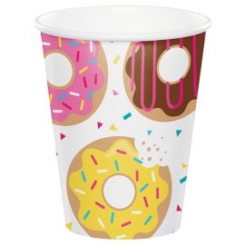 8 Verres Donut Time 266 ml