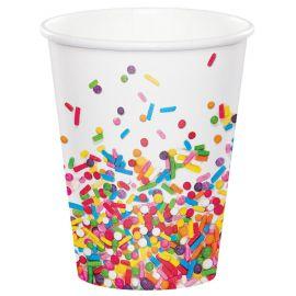 8 Verres Sprinkles 266 ml