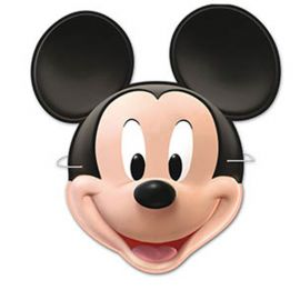 6 Masques Mickey Mouse