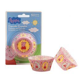 50 Caissettes Peppa Pig pour Cupcakes