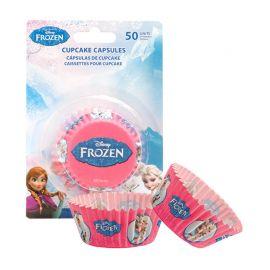 50 Caissettes La Reine des Neiges pour Cupcakes
