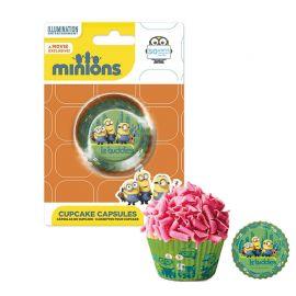 50 Caissettes Minions pour Cupcakes