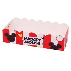 12 Plateaux Rectangulaires Mickey Mouse