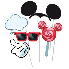 5 Accessoires Mickey Mouse Photocall