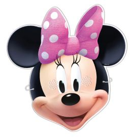 6 Masques Minnie Mouse