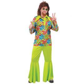 Déguisement de Hippie Flower Power pour Homme