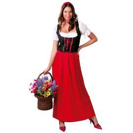 Déguisement d'Aubergiste Médiévale pour Femme