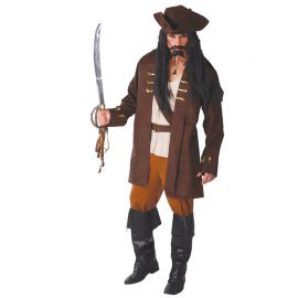 Déguisement Capitaine Pirate pour Homme avec Ceinture
